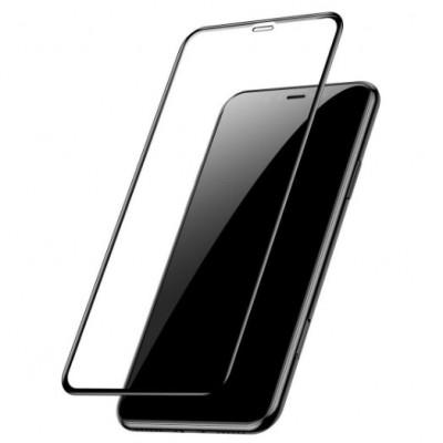 Купить недорого защитное стекло для iPhone XS MAX Black Чёрный - цены, отзывы, обзоры