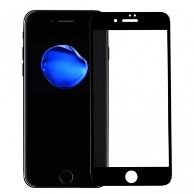 Купить недорого защитное стекло для iPhone 7 Black Чёрное - цены, отзывы, обзоры