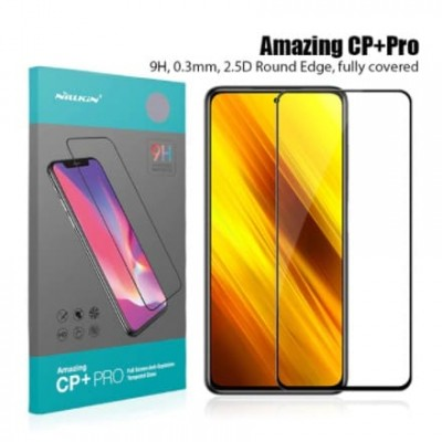 Купить защитное стекло Nillkin CP + PRO для XIAOMI Poco X3 - цены, отзывы, обзоры