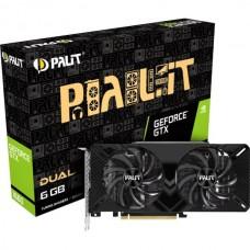 Видеокарта PALIT nVidia GeForce GTX 1660 DUAL 6G
