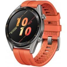 """Купить Смарт-часы HUAWEI Watch GT Active,  46мм,  1.4"""",  оранжевый"""
