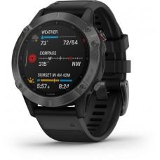 """Смарт-часы GARMIN Fenix 6 pro,  47мм,  1.3"""",  черный"""